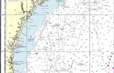 Carta nautica NOAA