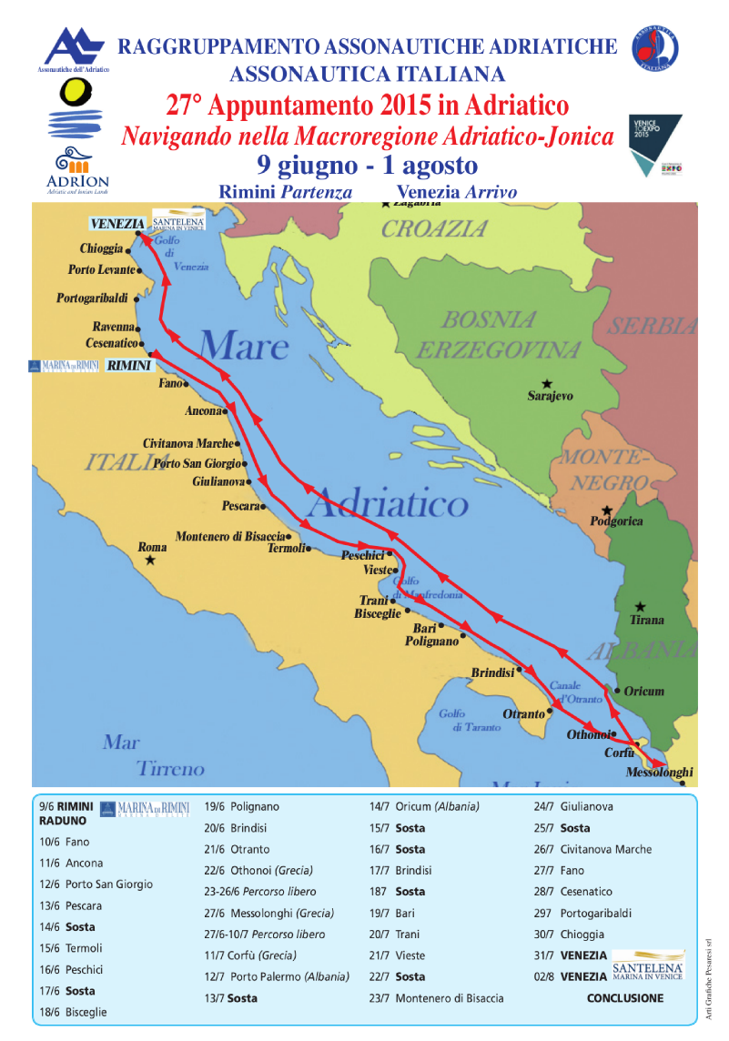 27° Appuntamento 2015 in Adriatico