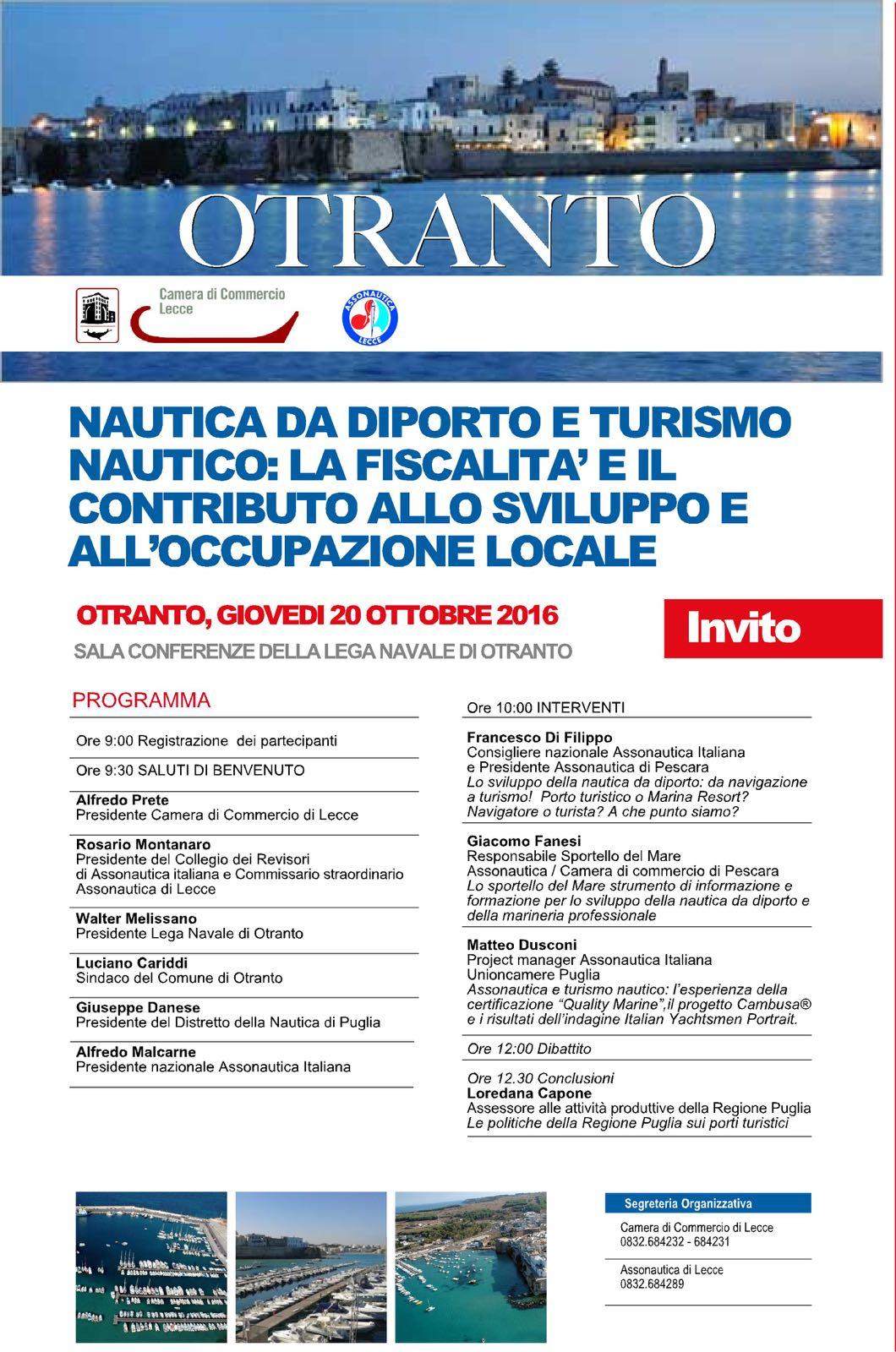 Otranto:Nautica da diporto nautico