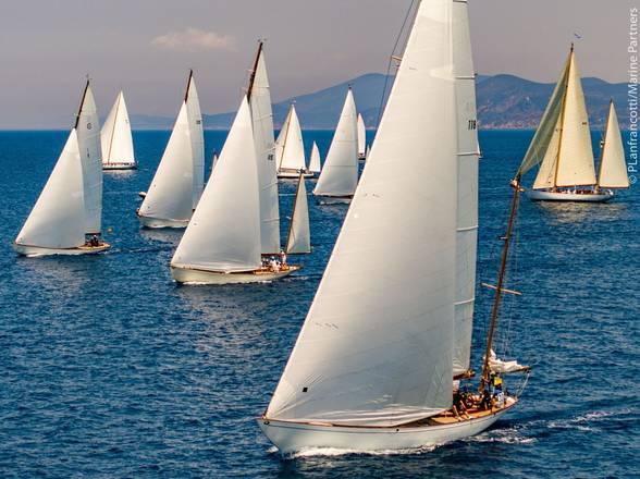 Vela: regate barche d'epoca a Porto S.Stefano