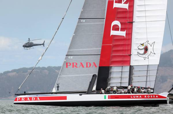 America's Cup: torna Luna Rossa con Prada e Pirelli